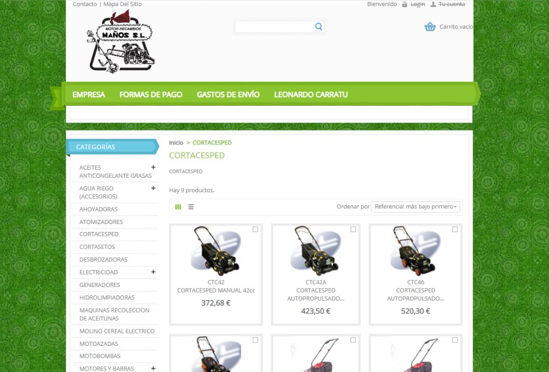 Diseño de web con Prestashop - OnSAT - Blog