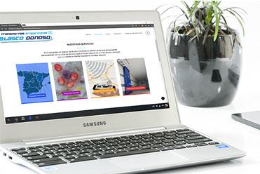 Diseño web - sitios web - Tiendas online - Web - Servicios informáticos - Utebo - Zaragoza - Onsat