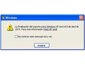 Final de windows XP - OnSAT - Blog