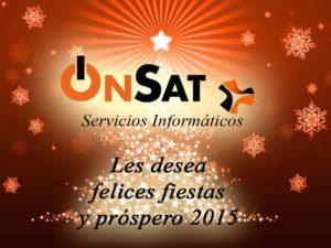 OnSAT - Servicios informáticos - blog - navidad onsat 2015