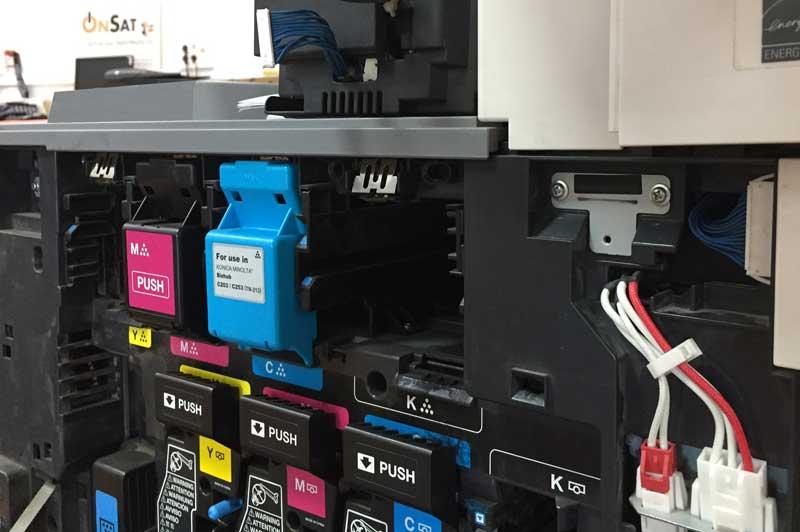 Reparación Fotocopiadora - Impresora - Servicios informáticos - Utebo - Zaragoza - Onsat